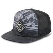 Dakine Classic Diamond Trucker Hat BLACK TROP