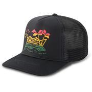 Dakine Electric Sunset Trucker Hat BLACK