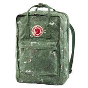 Fjallraven Kanken Art Laptop 17 Backpack GREEN FABLE