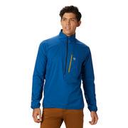 Mountain Hardwear Kor Preshell Pullover Men's NIGHTFALL BLUE