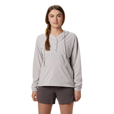 Mountain Hardwear Mallorca Stretch Long-Sleeve Hooded Shirt Women's
