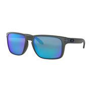 Oakley Holbrook XL Sunglasses GRAY SMOKE/PRIZM SAPPHIRE POLARIZED