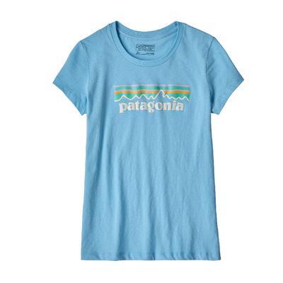 Patagonia Pastel P-6 Logo Organic T-Shirt Girls'