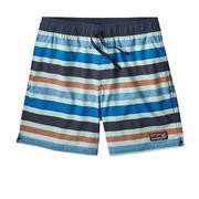 Patagonia Stretch Wavefarer Volley Shorts 16 Inch Men's WATER RIBBONS: ATOLL BLUE