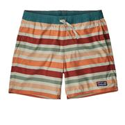 Patagonia Stretch Wavefarer Volley Shorts 16 Inch Men's WATER RIBBONS: NEW ADOBE