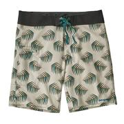 Patagonia Stretch Planing Boardshorts 19 Inch Men's PALMS OF MY HEART: DYNO WHITE