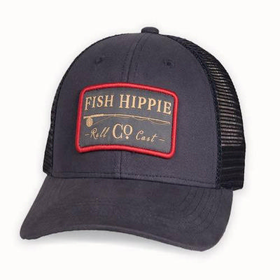 Fish Hippie Roll Cast Trucker Cap Men's