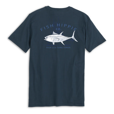 Fish Hippie Tuna Tower Pocket Tee Men's