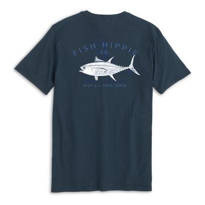 Fish Hippie Tuna Tower Pocket Tee Men's