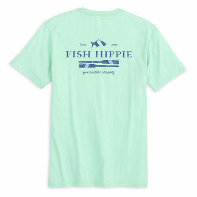 Fish Hippie Steady Drift Tee Men's