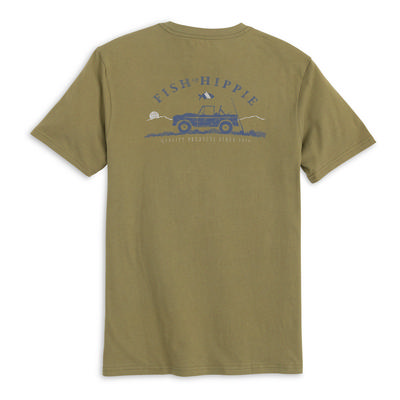 Fish Hippie Stream Seeker Tee  Men's