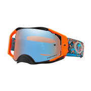 Oakley Airbrake MX Goggles CAMO VINE JUNGLE ORANGE BLU/PRIZM MX SAPPHIRE IRDM