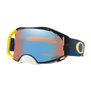 Oakley Airbrake MX Goggles EQUALIZER BLUE YELLOW/PRIZM MX SAPPHIRE IRIDIUM