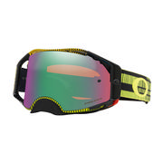 Oakley Airbrake MX Goggles FREQUENCY GREEN YELLOW/PRIZM MX JADE IRIDIUM
