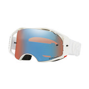 Oakley Airbrake MX Goggles FACTORY PILOT WHITEOUT/PRIZM MX SAPPHIRE IRIDIUM