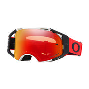 Oakley Airbrake MX Goggles RED WHITE/PRIZM MX TORCH IRIDIUM