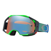 Oakley Airbrake MX Goggles SHOCKWAVE BLUE GREEN/PRIZM MX SAPPHIRE IRIDIUM