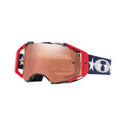Oakley Airbrake MX Goggles TROY LEE DESIGNS LIBERTY RWB/PRIZM MX BLK IRIDIUM