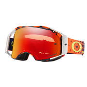 Oakley Airbrake MX Goggles TLD MEGABURST ORANGE NAVY/PRIZM MX TORCH IRIDIUM
