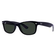 Ray Ban New Wayfarer Sunglasses BLACK/CRYSTAL GREY CLASSIC G-15