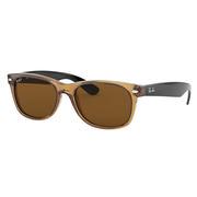 Ray Ban New Wayfarer Sunglasses HONEY/BROWN B15 POLARIZED