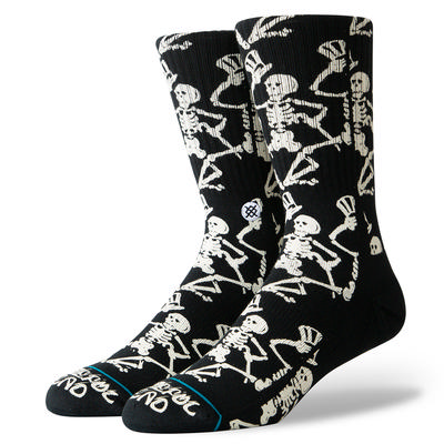 Stance Grateful Skulls Crew Socks Men's