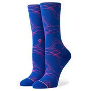 Stance Fluid Crew Socks Women's BLUE