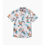 Roark Bauhinia Button Up Shirt Men's PURPLE