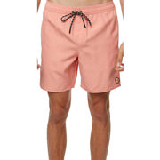 O`Neill Tropic Heather Volley Shorts Men`s FADED RED