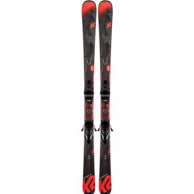 K2 Anthem 78 Skis with ER3 10 Compact Quikclik Bindings Women's 2020