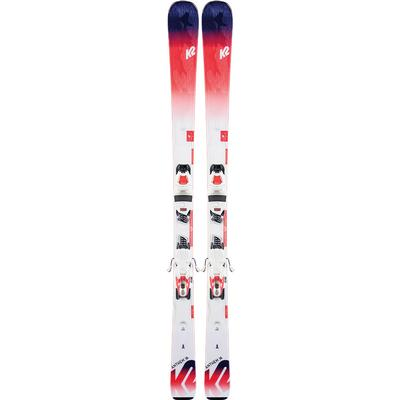 K2 Anthem 76 Skis with ERP 10 Quikclik Bindings Women's 2020
