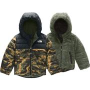 The North Face Reversible Mount Chimborazo Hoodie Toddler Boys' BRITISH KHAKI MINI WAXED CAMO PRINT
