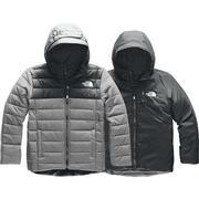 The North Face Reversible Perrito Jacket Boys' TNF MEDIUM GREY HEATHER