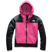 The North Face Glacier Full Zip Hoodie Girls' MR. PINK