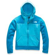 The North Face Glacier Full Zip Hoodie Girls' TURQUOISE BLUE