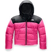 The North Face Moondoggy Down Jacket Girls' MR PINK