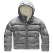 The North Face Moondoggy Down Jacket Girls' TNF MEDIUM GREY HEATHER
