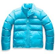 The North Face Andes Down Jacket Girls' TURQUOISE BLUE