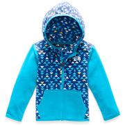 The North Face Glacier Full Zip Hoodie Toddlers' TNF BLUE MINI AZTEC PRINT