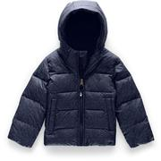 The North Face Moondoggy Down Jacket Toddlers' MONTAGUE BLUE DENIM PRINT