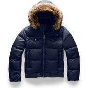 The North Face Gotham Down Bomber Jacket Girls' MONTAGUE BLUE