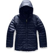 The North Face Mossbud Swirl Parka Girls' MONTAGUE BLUE