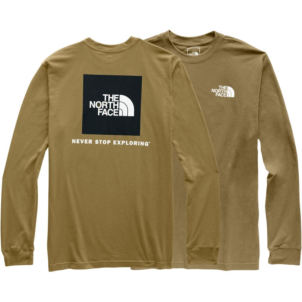 The North Face Long- Sleeve Red Box Tee Men's