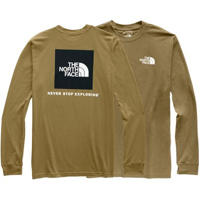 The North Face Long-Sleeve Red Box Tee Men's