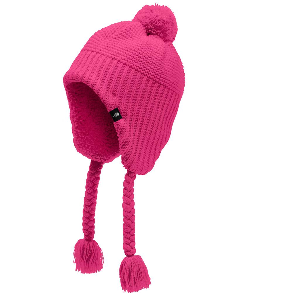 The North Face Purrl Stitch Earflap Beanie Girls '