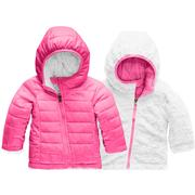 The North Face Reversible Mossbud Swirl Hoodie Infants' MR PINK