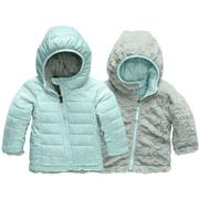 The North Face Reversible Mossbud Swirl Hoodie Infants' WINDMILL BLUE