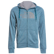 The North Face Surgent Half Dome Full Zip Hoodie Men's BLUE CORAL HEATHER/MID GREY