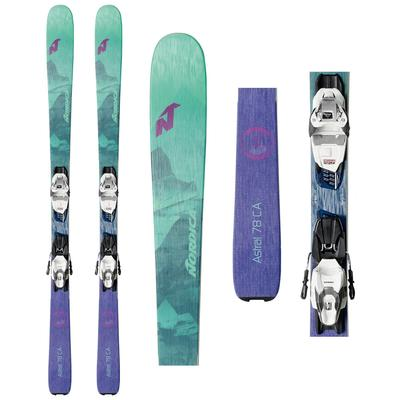 Nordica Astral 78 CA Skis with TP2 Compact 10 FDT Bindings Women's 2020