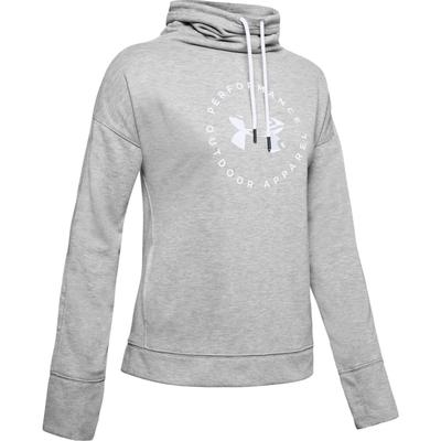 Under Armour Terry Graphic Funnel Neck Sweatshirt Women's